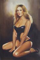 girls sex australia oil painting