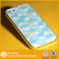 2014 for custom apple iphone 5 5s fancy cell mobile phone back covers