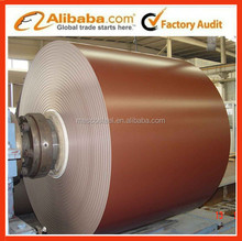 color coated steel roofing materials