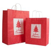 2015 hot selling Christmas gift paper bag ,brown paper bag, kraft paper bag