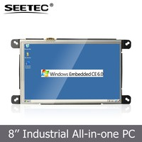 8 inch industrial panel touch screen bluetooth optional terminal pos rj45 lan tablet pc