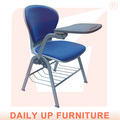 Plástico tabuinha pano da cadeira- cadeira acolchoada escola esboçar cadeira ergonômica