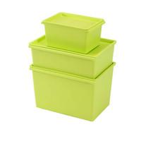 Plastic Storage Box With Matt, Houseware Oganizer Box