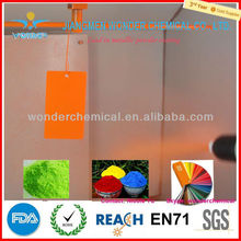 epoxy-polyester red fire control equipment spray powder coatings