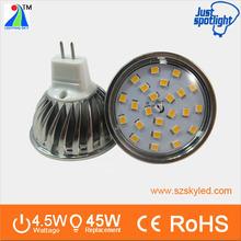 Aluminum Dicasting LED SMD 2835 SPOT mr16 led halogen replacment