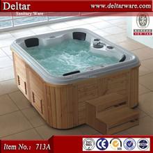 big wave water massage hot tub, wood skirt bathtub, indoor swimming pools for sale