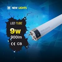 glass led tubes with 600mm 9w led tube light t8