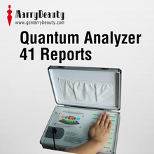 2015 new product quantum magnetic resonance body analyzer software with 41 reports