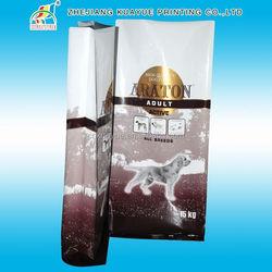 Laminated Printed Pet Food Bag,Classical Portable Green And Safe Pet Dog Food Bag,Dog Chews Packaging