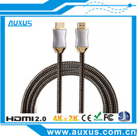 Premium High end metal 1.4 2.0 HDMI cable for xbox 1 ps4 HD TV support 1080p with ethernet