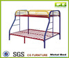 Top selling America design cheapTwin Over Full Rainbow metal bunk bed
