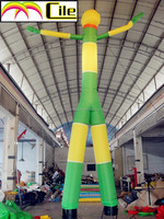 CILE Green with Yellow Inflatable air dancer advertisement product