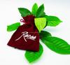 promotional velvet bags,velvet pouch red velvet christmas gift bag