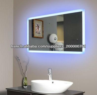 H tel salle de bains lumi re miroir de courtoisie for Miroir salle de bain high tech