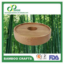 Quality Non spill food grade Bamboo glass jars lids &ceramic cup lid