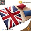 Super soft warm cozy polyester double ply sofa Union jack flag blanket, american flag blanket, sherpa blanket