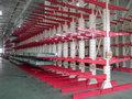 Nanjing ajustable pesados cantilever rack/bastidores voladizo/en voladizo