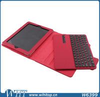 LiChi Grain Skin Leather Flip Case with Keyboard for iPad 2/3/4 (9.7 inch)