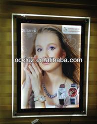 2014 New Technology Crystal LED Display Frame