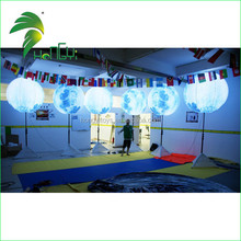 Amazing Innovation Design OEM Stand LED Inflatable Sphere Balloon