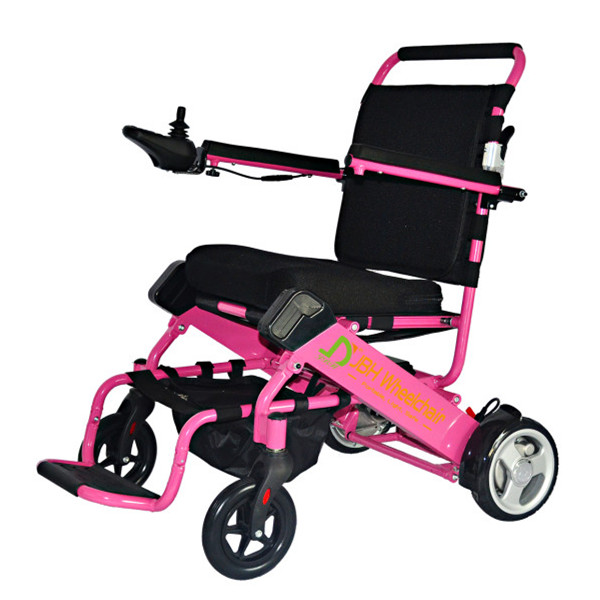 Lightweight folding portable electric moterized power for Lightweight motorized folding wheelchair