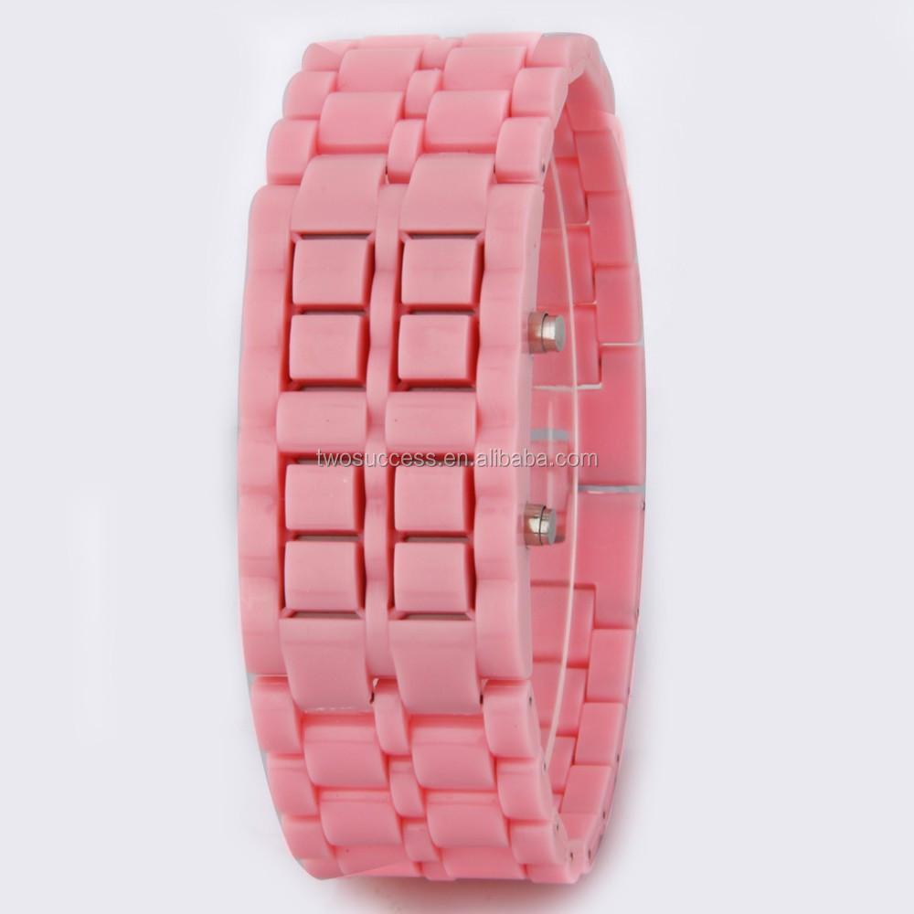Lava LED chain watch (4)
