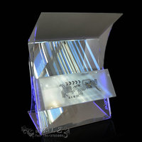 Factory outlet new style conference lectern acrylic reception table podium designs with brochure drawer