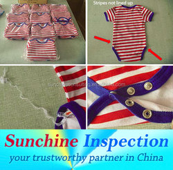 Children's Textile and Apparel Inspection / Quality Inspection and Testing Services for Baby Clothing and Kids Clothes