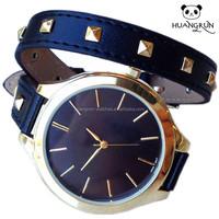 2015 Classic promotion leather lady beautiful good wristwatch