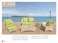 Hot sale new design comfortable Living Room rattan Furniture TF-6043B