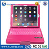 New arrived leather case bluetooth keyboard for iPad