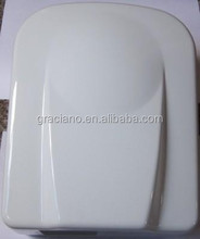 JN70003 Satin and Bright finish White Lacquer Coating Wall Mounted Stainless Steel Automatic Hospital Hand Dryer