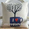 simpleness afternoon tea rest chair cushion, digital printing home cushion, cushion cover