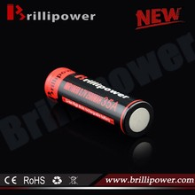 Brillipower 1x18650 lithium rechargeable battery high discharge 35A 18650 battery for mods