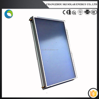flat-plate type solar collector for water heater