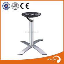HD318 outdoor table base aluminum table leg placement folding table legs uk