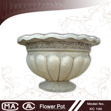 2015 new model sandstone garden flower pot landscape material