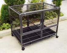 Selling The Black Pet Cage , Metal Dog Cage With ABS Tray FOB Price: US $10 - 30 / Piece | Get Latest Price