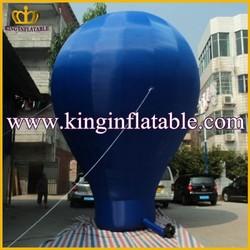 Blue Oxford Custom Giant Air Balloon, Advertising Inflatable Ground Balloon, Custom Giant Inflatables