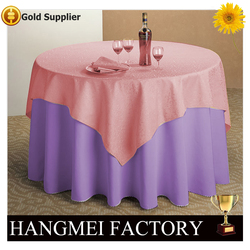 Foshan shunde factory 150 round fancy table cover