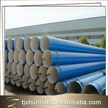 Trade assurance steel pipe supplier Black painting bituminous pipe coating