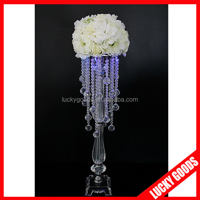 Wholesale crystal candelabra wedding centerpieces for for Buy wedding centerpieces