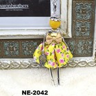 New Boho tendência artesanal francesa boneca moda elegante camisola longa pingente charme colar