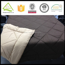 Top selling brushed quilted polyester double face quilt