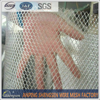 High quality painting expanded metal wire mesh fence