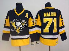 Evgeni Malkin #71 Pittsburgh Penguins Throwbacks National Hockey Jersey