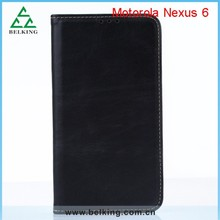 Ultra Slim Leather Stand Case For MOTO Nexus 6, For Moto Nexus 6 PU Protective Case