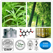 Top quality bamboo leaves extract, free sample,KOSHER HALAL certified manufacture