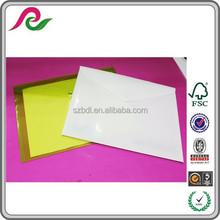 Custom Clear Waterroof Plastic A4 Paper Document File Bag Case Holder Organizer