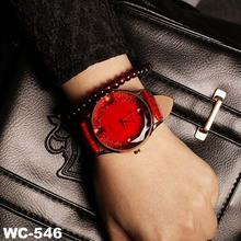 Red watches Korea fashionable big luxury diamond watch